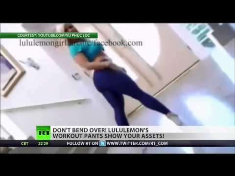 Bend-overs beware: Lululemon recalls 'transparent' yoga pants