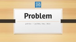 Problem » Definition, Meaning, Pronunciation, Origin, Synonyms, Thesaurus, and Example Sentences