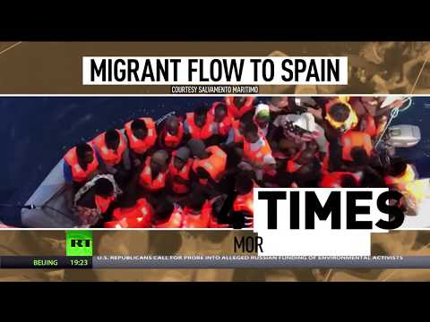 New pressure point: Spain sees 75% surge in migrants compared to 2016