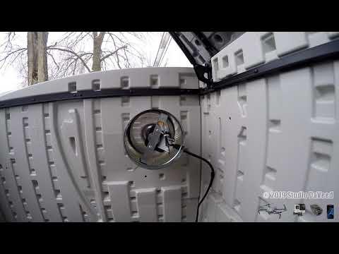 UPDATE 1 DIY Quiet Suncast Ventilated Home Generator Storage Shed Box