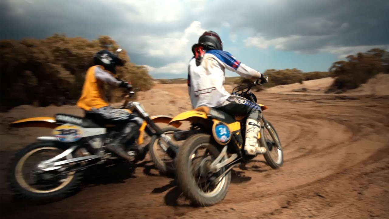 Two-Wheeled Time Machines: Racing Vintage Motocross -- /RideApart