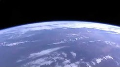 ISS flying over Cyclone Owen Cat2 December 13 earlier today.