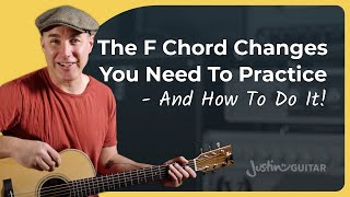 Changes With The F Chord For Beginners