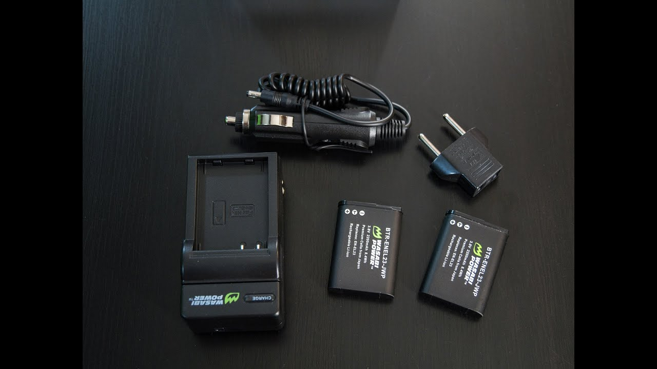 Nikon P900 P600 P610 S810c Wasabi Battery Batteries Charger