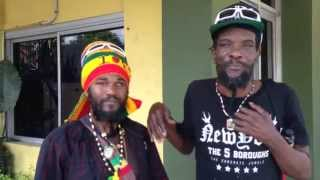 MAJOR MACKEREL AND PROPHECY IZIS @ IRIE FM HQ OCTOBER 9TH 2015