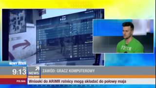 """Jarosław """"pasha"""" Jarząbkowski w Polsat News #Wywiad 16.03.2015"""