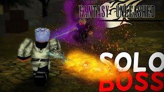 Jefe de campo solo Fantasía desatada - Roblox Fantasy Unleashed (Pre-Alpha)