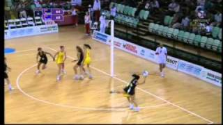 Commonwealth Games 2010 - Winning Moment Netball Final