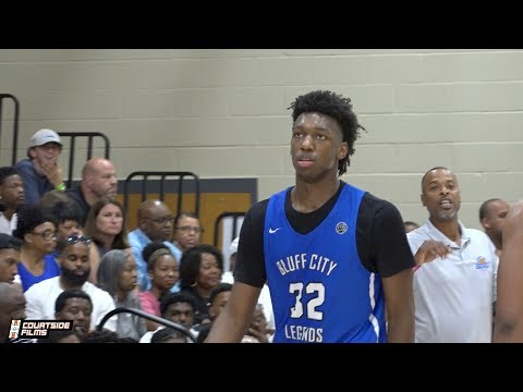 James Wiseman (ESPN #1 in 2019) Full Highlights From the Peach Jam!