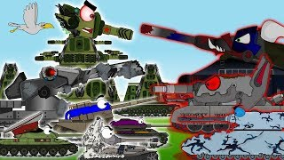 All series of TANK MONSTERS.Cartoons about tanks.