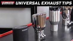 Flowmaster Universal Exhaust Tips