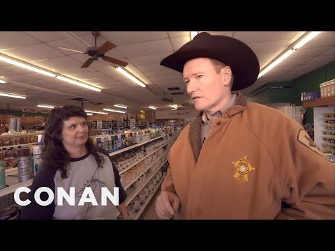 Conan Becomes A Texas Deputy, Part II