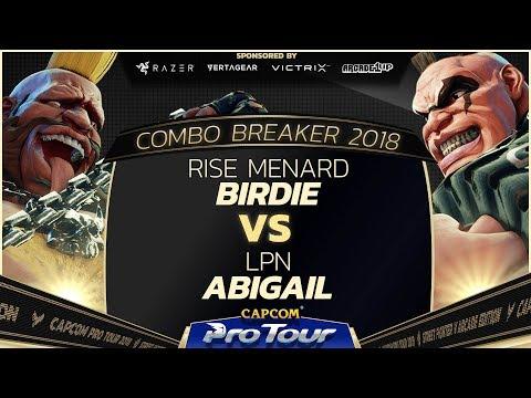 Rise MenaRD (Birdie) vs LPN (Abigail) - Combo Breaker 2018 - Top 96 - CPT 2018