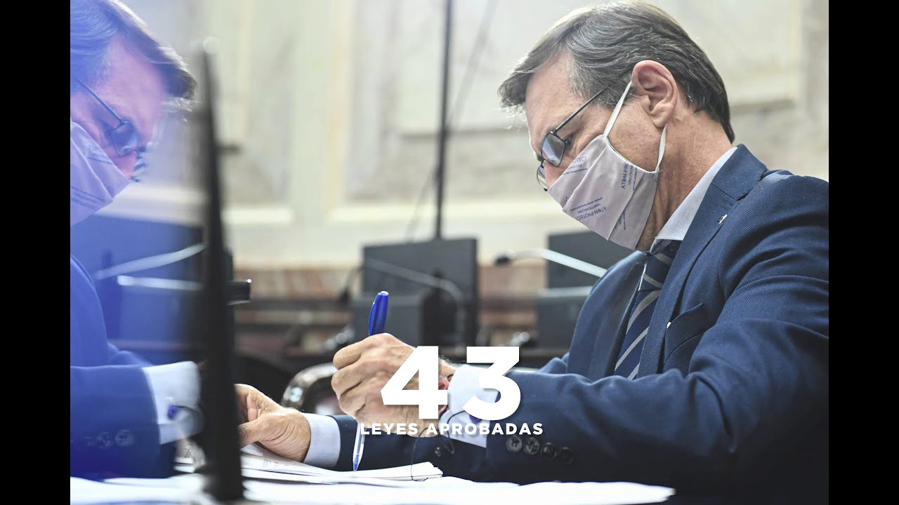 BALANCE 2020: EL DESAFÍO DE LEGISLAR EN PANDEMIA