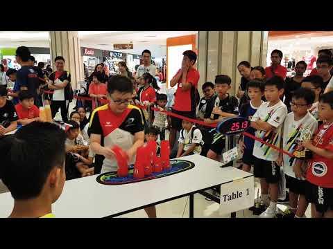 Chan Keng Ian Final in Klang Parade Stacking Challenge