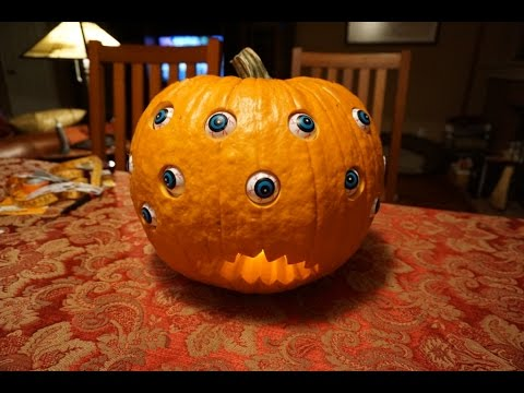 Arduino Servo Pumpkin Eyes Youtube