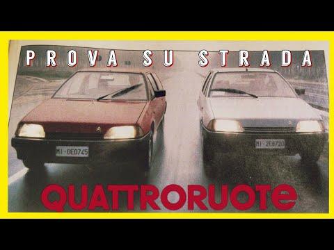 05/1987: CITROEN AX 10 E/ 11 TRE (QUATTRORUOTE, Prova Su Strada)
