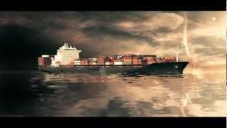 Ship breaking in two 3D animation VFX