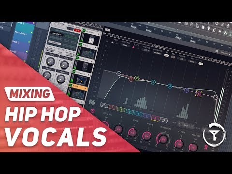 Mixing Hip Hop Vocals with WAVES PLUGINS From Scratch   EQ & Compression