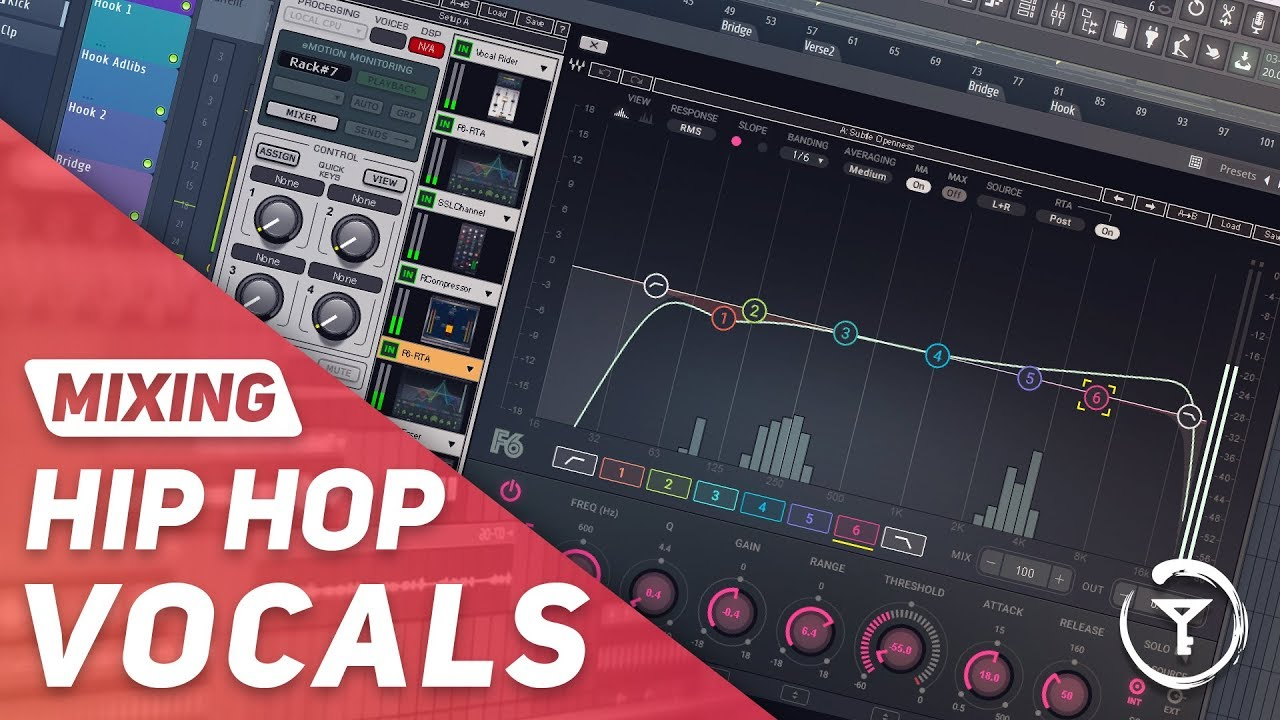 Mixing Hip Hop Vocals with WAVES PLUGINS From Scratch | EQ