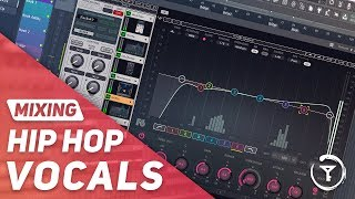 Mixing Hip Hop Vocals with WAVES PLUGINS From Scratch | EQ & Compression