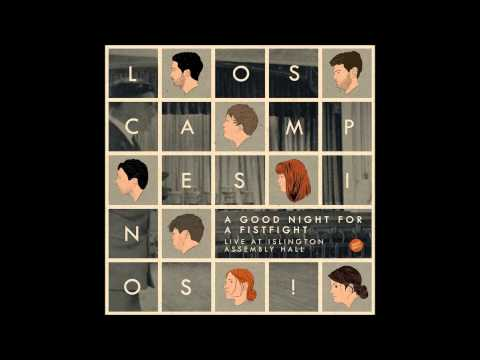 Los Campesinos! - Heart Swells/Pacific daylight time (Live)