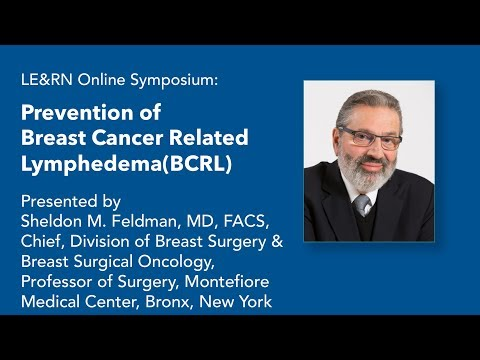 Prevention Of Breast Cancer Related Lymphedema - Dr. Sheldon M. Feldman, MD, FACS