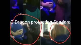 170108-170109| Big Bang G-dragon protects Dara| DARAGON