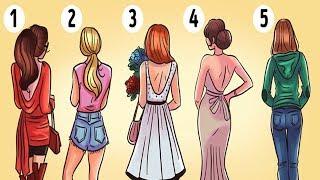 1 Kadın Seçin ve Kişiliğinizi Test Edin