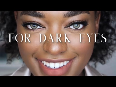 Best Coloured Contact Lenses For Dark Brown Eyes | TTDEYE / COLORCL Try On Review | Naomi Christina