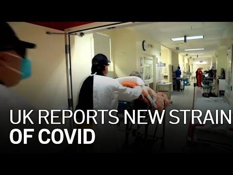 U.K. Reports New Strain Of COVID-19