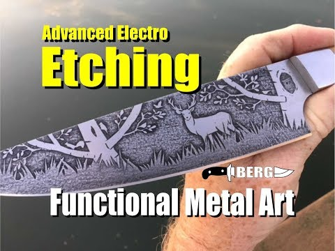 Advanced Electro Etching How to create functional Metal Art