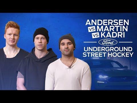 Andersen vs Kadri vs Martin - Ford Street Hockey Challenge