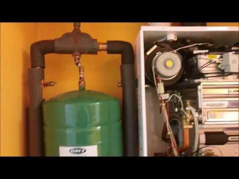Navien CH240 combi boiler flush
