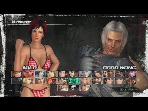 DOA5 AiN (Mila,Day.1) vs 荒無月 (Brad-Wong)