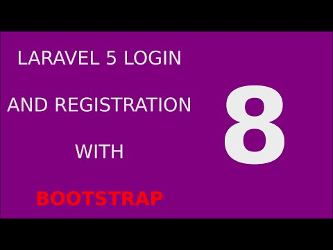 Laravel 5 Login Registration Tutorial System - 8 Validate User Login