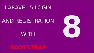 Laravel 5 Login Registration Tutorial System - 8 Validate User Login