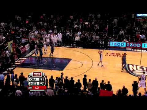 7f8790f7931 Nightly Notable (12/04/2009): New Jersey Nets Broke their 0-18 start by  beating Charlotte Bobcats