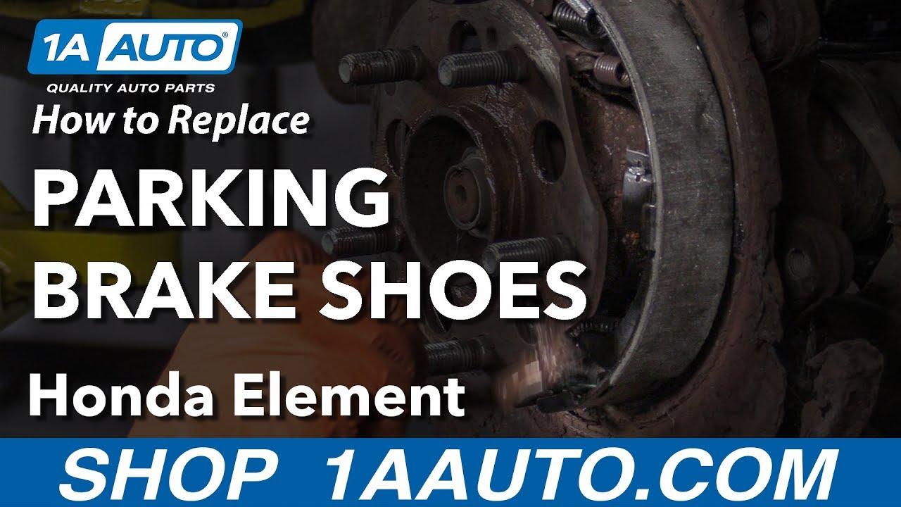 Honda Ridgeline 06 07 08 Emergency//Parking Brake Shoes