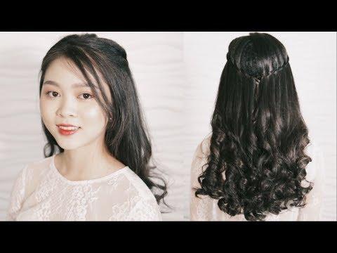 Tết tóc kiểu thác nước xinh đẹp   Mẹo Làm Đẹp    Phụ Nữ và Gia Đình Hóng Showbiz