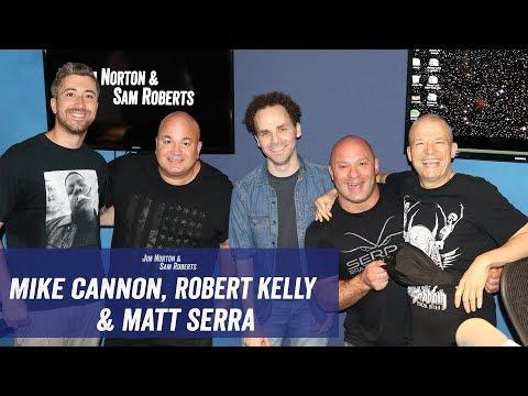 Matt Serra, Robert Kelly, Mike Cannon - Virtual Reality, Porn, Supplements - Jim & Sam Show