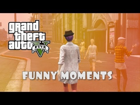 GTA 5 Funny Moments: Party Bus, Dat A$$,...