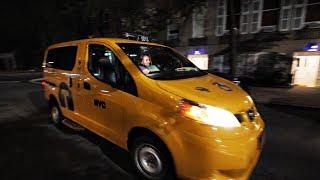 New York'ta Taksicilik Yapan Giresunlu Tuğba/ Arabeskli New York Sokakları