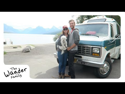 VAN LIFE: MOST BEAUTIFUL PLACE ON EARTH!!! | Steps to Wander 📍 Glacier National Park