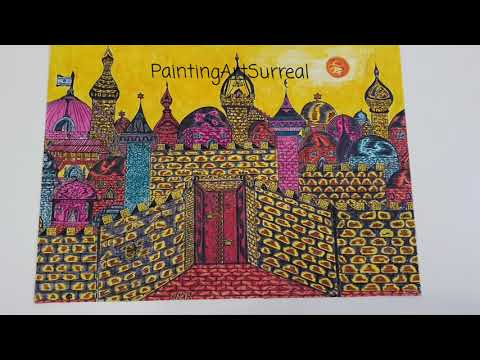 Jerusalem inspired by the artist