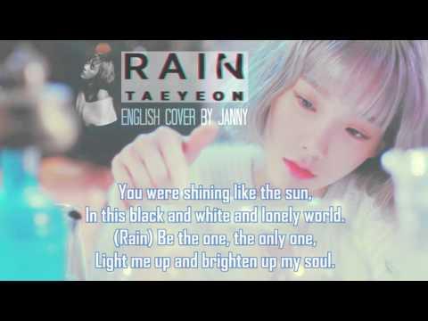 TAEYEON (태연) - Rain | English Cover By JANNY