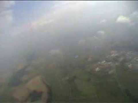 Tandemsprung Fallschirmsprung über Bad Saulgau