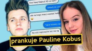 "Prankuje PAULINA KOBUS tekstem piosenki ""ZBUNTOWANY ANIOŁ"""