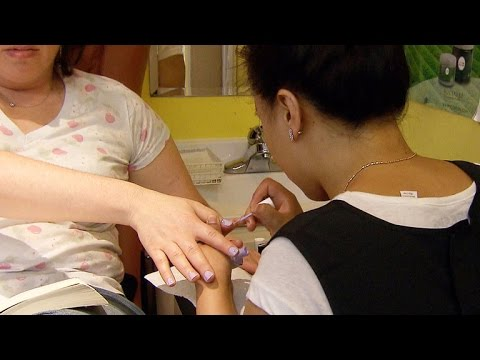 A look inside nail salon working conditions