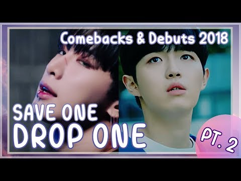 [KPOP GAME] SAVE ONE DROP ONE COMEBACK EDITION -PART2- (2018)